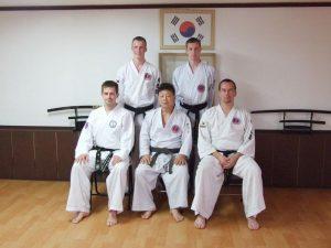 hapkido examen in Korea