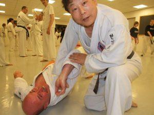 HKD trainen met meester Ko Baek-yong