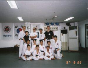 kerstvakantie 2013 Korea hapkido
