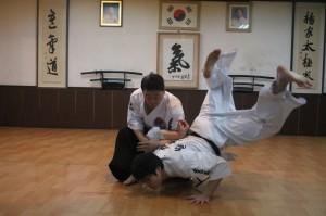 hankido master Ko Baek-yong